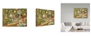 """Trademark Global Jan Benz 'Not A Creature Was Stirring' Canvas Art - 19"""" x 14"""""""