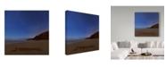 "Trademark Global Jason Matias 'I Love Hawaii Stars' Canvas Art - 14"" x 14"""