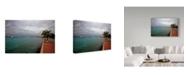 "Trademark Global J.D. Mcfarlan 'Bonaire 1' Canvas Art - 19"" x 12"""