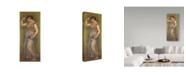 "Trademark Global Pierre Auguste Renoir 'Dancing Girl With Castanets, 1909' Canvas Art - 14"" x 32"""