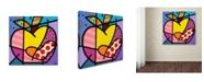 "Trademark Global Roberto Rafael 'Big Apple IV' Canvas Art - 24"" x 24"""