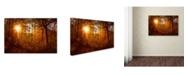 "Trademark Global PIPA Fine Art 'Autumn Sunset' Canvas Art - 22"" x 32"""