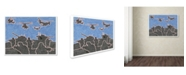 "Trademark Global Viz Art Ink 'First To Fight' Canvas Art - 24"" x 32"""