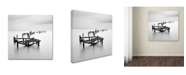 """Trademark Global Rob Cherry 'All That Remains' Canvas Art - 24"""" x 24"""""""