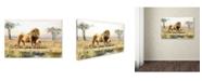 "Trademark Global The Macneil Studio 'Lion' Canvas Art - 30"" x 47"""