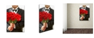 "Trademark Global The Macneil Studio 'Red Roses' Canvas Art - 30"" x 47"""