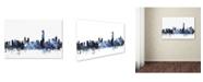 """Trademark Global Michael Tompsett 'Hong Kong Skyline' Canvas Art - 22"""" x 32"""""""