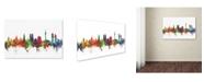 "Trademark Global Michael Tompsett 'Munich Germany Skyline II' Canvas Art - 30"" x 47"""