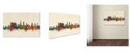 "Trademark Global Michael Tompsett 'Heidelberg Germany Skyline III' Canvas Art - 22"" x 32"""