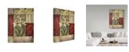 "Trademark Global Lisa Audit 'Lily' Canvas Art - 35"" x 47"""