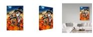 "Trademark Global Howard Robinson 'Spooky Puppies' Canvas Art - 30"" x 47"""