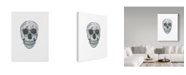 "Trademark Global Jessmessin 'Skull' Canvas Art - 35"" x 47"""