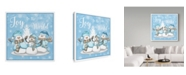 "Trademark Global Jean Plout 'Winter Joy' Canvas Art - 24"" x 24"""