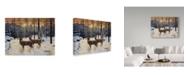 """Trademark Global Jeff Tift 'Evening Silence' Canvas Art - 35"""" x 47"""""""