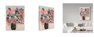 """Trademark Global Karen Fields 'Full Vase' Canvas Art - 35"""" x 47"""""""