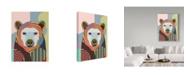 "Trademark Global Lanre Adefioye 'Hunting Polar Bear' Canvas Art - 35"" x 47"""
