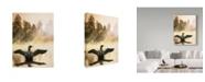 "Trademark Global Ron Parker 'Misty Dawn Loon' Canvas Art - 24"" x 32"""