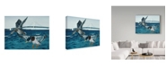 "Trademark Global Rusty Frentner 'Mackinac Mallards' Canvas Art - 24"" x 32"""