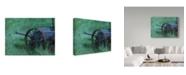 "Trademark Global Rusty Frentner 'Seeder' Canvas Art - 35"" x 47"""