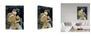 "Trademark Global Sharon Forbes 'Bear Hug' Canvas Art - 24"" x 32"""