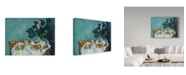 "Trademark Global Paul Cezanne 'A Pot Of Primroses' Canvas Art - 32"" x 24"""