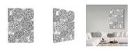 "Trademark Global Jessica Putnam 'Floral Patterns 3' Canvas Art - 35"" x 47"""