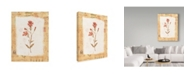"Trademark Global Hope Street Designs 'Pink Flower Centered' Canvas Art - 35"" x 47"""