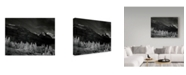 "Trademark Global J.D. Mcfarlan 'Glacier Park I' Canvas Art - 47"" x 35"""