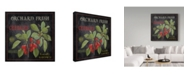 "Trademark Global Jean Plout 'Orchard Fresh Cherries' Canvas Art - 35"" x 35"""