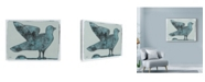 "Trademark Global Maria Pietri Lalor 'Stoned Pigeon' Canvas Art - 47"" x 35"""