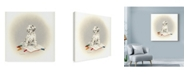 "Trademark Global Peggy Harris 'Dot To Dot' Canvas Art - 35"" x 35"""