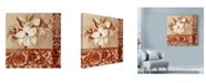 "Trademark Global Marietta Cohen Art And Design 'Portrait Of White Lily' Canvas Art - 35"" x 35"""