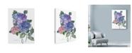 "Trademark Global Marietta Cohen Art And Design 'Hidragenia Water Color 1' Canvas Art - 35"" x 47"""