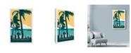 "Trademark Global Michael Jon Watt 'Hawaii Travel Poster' Canvas Art - 30"" x 47"""