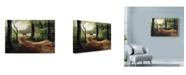 """Trademark Global Nigel Artingstall 'Roe Deer' Canvas Art - 47"""" x 30"""""""
