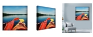 "Trademark Global Nina Marie 'Lake Therapy' Canvas Art - 24"" x 24"""
