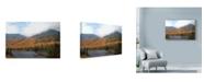 "Trademark Global Nina Marie 'Fire On The Mountain' Canvas Art - 32"" x 22"""