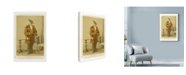 "Trademark Global Philippe Debongnie 'Family Album Jacques' Canvas Art - 30"" x 47"""