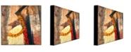 "Trademark Global Joarez, 'Mie Ken' Canvas Art - 35"" x 35"""