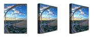 "Trademark Global MCat 'Ocean City' Canvas Art - 24"" x 18"""