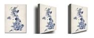 "Trademark Global Michael Tompsett 'UK - Watercolor' Canvas Art - 24"" x 18"""