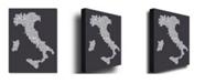 "Trademark Global Michael Tompsett 'Italy in Charcoal' Canvas Art - 32"" x 22"""