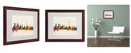 """Trademark Global Michael Tompsett 'Moscow, Russia' Matted Framed Art - 20"""" x 16"""""""