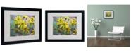 """Trademark Global Monica Fleet 'Intriguing Dynasty' Matted Framed Art - 20"""" x 16"""""""