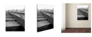 "Trademark Global Monica Fleet 'Unfinished Flaw' Canvas Art - 24"" x 18"""