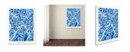 "Trademark Global Michael Tompsett 'Moscow City Street Map III' Canvas Art - 24"" x 32"""