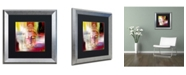 "Trademark Global Mark Ashkenazi 'Buddha Face 4' Matted Framed Art - 16"" x 16"""