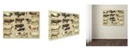 "Trademark Global Vintage Apple Collection 'Dairy Farm' Canvas Art - 14"" x 19"""