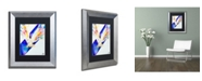 "Trademark Global Marc Allante 'Hector' Matted Framed Art - 11"" x 14"""