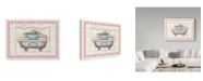 "Trademark Global Lisa Audit 'Bath C' Canvas Art - 14"" x 19"""